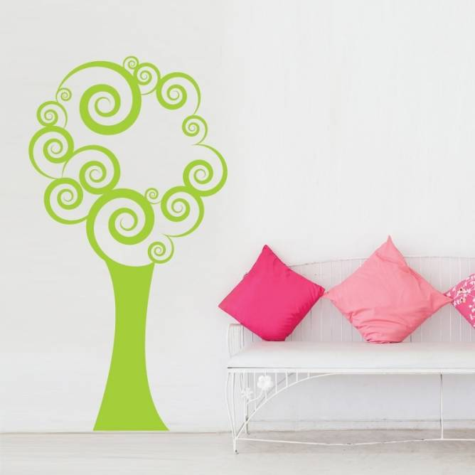 Arbre Curly Design