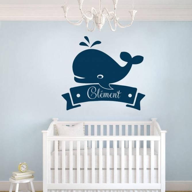 Bébé Baleine Personnalisé