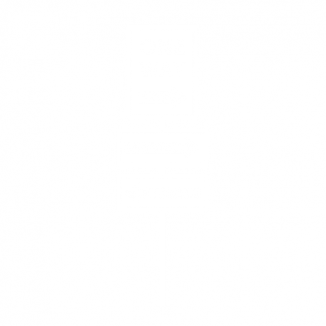 Panneau Direction One Way