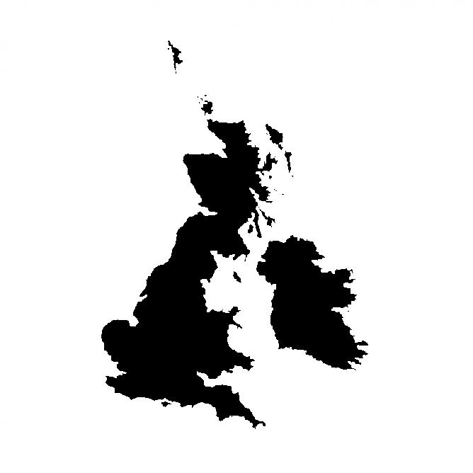 Map Angleterre