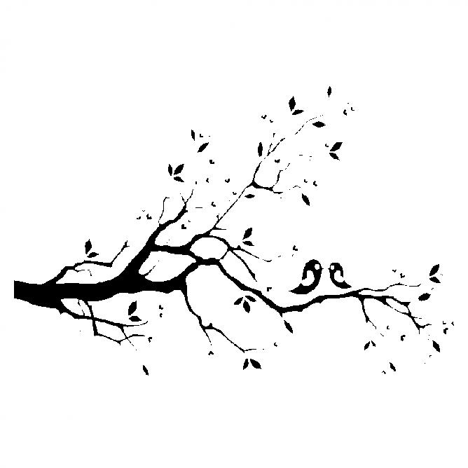 Oiseaux sur Branche