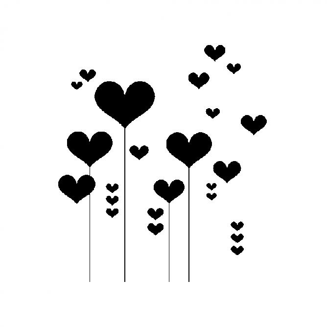 Coeurs sur Tiges 2