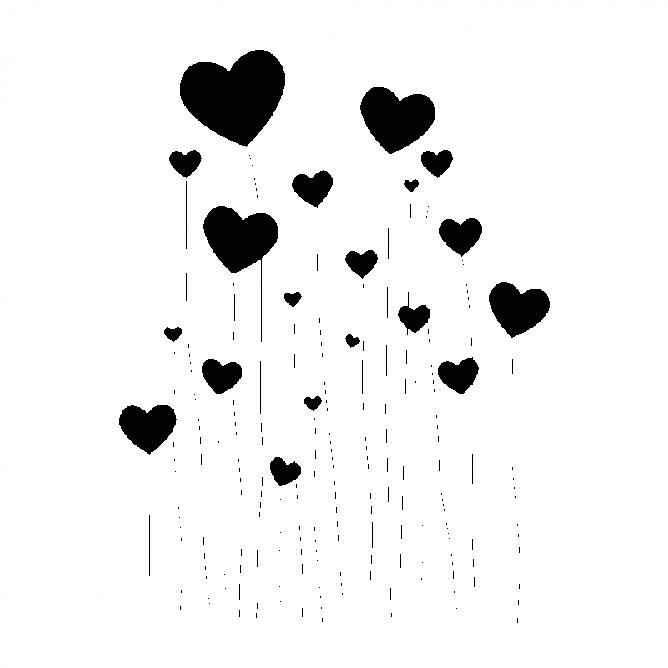 Coeurs en Tiges