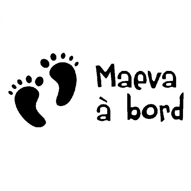 Bébé à Bord Empreinte Bébé 2