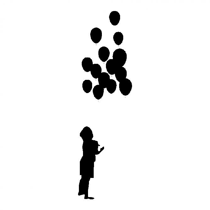 Enfant avec Ballons